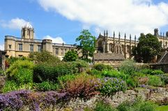 Christ church Cathedral and college, Oxford. Stock Photography