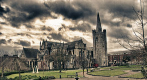 Christ Church Cathedral in Dublin Royalty Free Stock Photo
