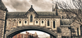 Christ Church Cathedral in Dublin Stock Images