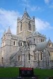 Christ Church Cathedral - Dublin Stock Image