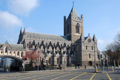 Christ Church Cathedral - Dublin. Christ Church Cathedral (The Cathedral of the Holy Trinity, commonly known as Christ Church, Cathedral of the United Dioceses Stock Images