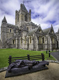 Christ Church Cathedral Dublin Royalty Free Stock Photo