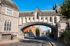 Christ Church Cathedral in Dublin Stock Photo