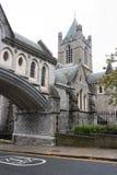 Christ Church Cathedral. Dublin, Ireland Royalty Free Stock Photos