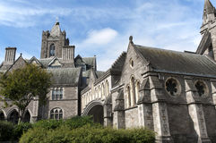 Christ Church Cathedral in Dublin Stock Image
