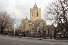Christ Church Cathedral in Dublin Royalty Free Stock Images