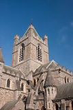 Christ Church Cathedral of Dublin in Ireland Stock Images