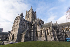 Christ Church Cathedral - Dublin - Ireland Royalty Free Stock Image