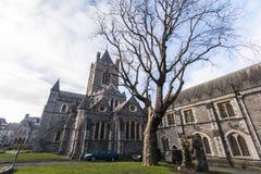 Christ Church Cathedral - Dublin - Ireland Stock Photography