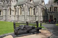 Christ Church Cathedral, Dublin Royalty Free Stock Photography