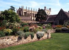 Christ Church Cathedral, Oxford. Stock Images