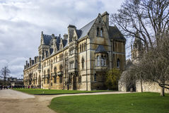 Christ church cathedral in Oxford, England Royalty Free Stock Image