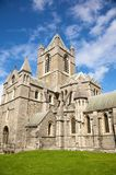 Christ church cathedral side Stock Photo