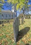 Christ Church Cemetery, Cambridge, Massachusetts Royalty Free Stock Images