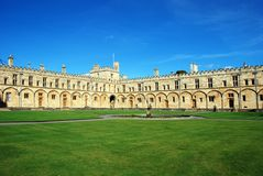 Christ Church college Royalty Free Stock Photos