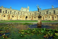 Christ Church College Royalty Free Stock Photo