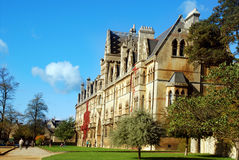 Christ Church College Royalty Free Stock Image