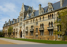 Christ Church College facade Royalty Free Stock Image