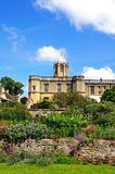 Christ Church College and gardens, Oxford. Royalty Free Stock Images