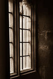 Christ Church College - old window Royalty Free Stock Images