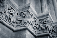 Christ Church College - ornaments (close-up) Royalty Free Stock Image