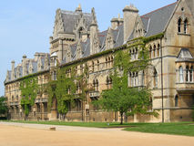 Christ Church College, Oxford. Facade of Christ Church College, Oxford, UK royalty free stock images
