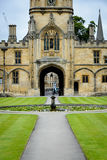 Christ Church College, Oxford - the gate Stock Photo