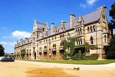 Christ Church College, Oxford. Stock Photo