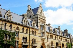 Christ Church College, Oxford. Royalty Free Stock Images
