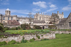 Christ Church college in Oxford Royalty Free Stock Photos