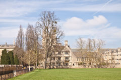 Christ Church college in Oxford Royalty Free Stock Images