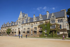 Christ Church College at Oxford University Royalty Free Stock Images