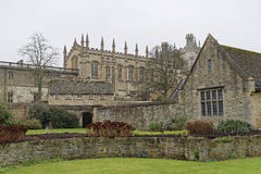 Christ Church College Oxford University Royalty Free Stock Photos