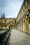 Christ Church College, Oxford - walkways Royalty Free Stock Photography