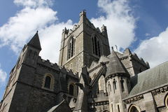 Christ Church in Dublin Royalty Free Stock Photos