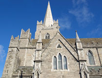 Christ Church Dublin Stock Image