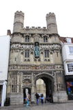 Christ Church Gateway Canterbury Cathedral UK Royalty Free Stock Image
