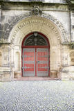 Christ Church Kassel - Door for Emperor Stock Photo