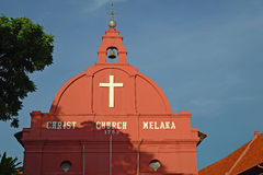 Christ Church Malacca, Malacca, Malaysia Stock Images