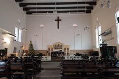 Christ Church in Malacca Royalty Free Stock Photos