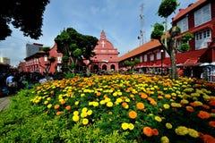 Christ Church Malacca Stock Photo