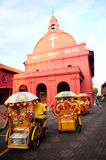 Christ Church Malacca Royalty Free Stock Photography