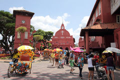 Christ Church Melaka royalty free stock photography
