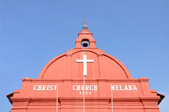 Christ Church, Melaka Royalty Free Stock Image