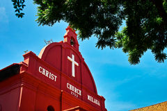 Christ Church Melaka Stock Images