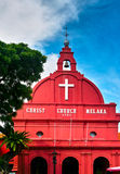 Christ Church Melaka Stock Photos