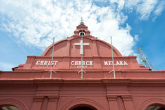 Christ church Melaka Royalty Free Stock Images