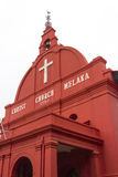 Christ Church Melaka, Malacca, Malaysia Royalty Free Stock Photos