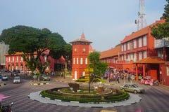 Christ church in Melaka, Malaysia Stock Images