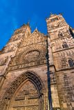 Christ church in Nuremberg Germany cultural building royalty free stock photos